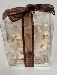 Flying Swan - Gift Box Soft Almond Nougat Cranberry & Pistachio 185gr Image