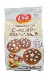 Gastone Lago - Cocoa Hazelnut Cookies 350gr Image