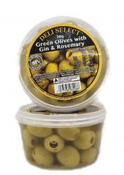 Olives - Green with Gin & Rosemary 350gr Image