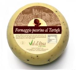Val D'Apsa - Pecorino with Truffles 500gr Image