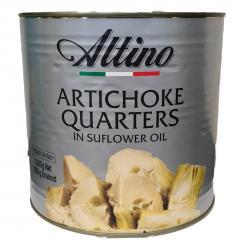 Altino- Artichoke Plain Quarters in Oil 2.6kg Image