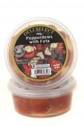 Antipasti- Pepperdews with Feta Image