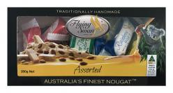 Flying Swan - Gift Box Almond Nougat Assorted 200gr Image