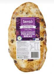 Senza-Gluten Free Olive & Rosemary Focaccia 250gr Image
