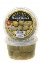Olives - Stuffed-Almond 350gr Image