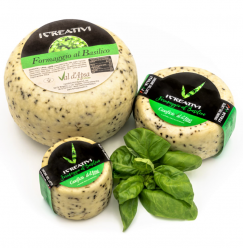 Cheese with Basil 400gr Image