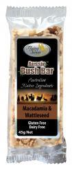 Aussie Bush Bar- Macadamia & Wattleseed 45gr Image