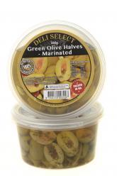 Olives - Halved Spicy Green 350gr Image