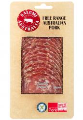 Salami Classico (Pepper) Free Range Sliced 100gr Image