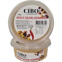 Hommus Spicy Olive - 200gr Image