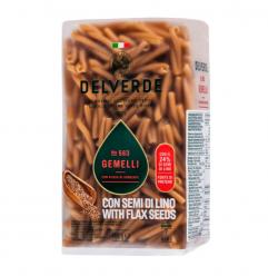 Delverde - Flax Seed Gemelli 563 450gr Image