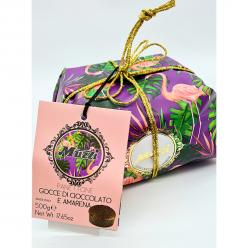 Animal Range-Panettone Black Cherry & Choc Chips 500gr Image