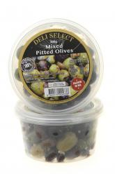 Olives - Mixed Pitted Marinated 200gr Image