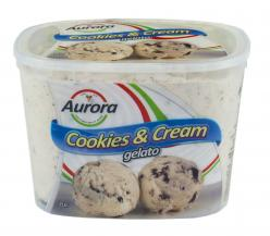 Aurora - Icecream Cookies and Cream 2Ltr Image