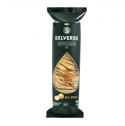 Delverde - Nido Fettuccine Egg 89 250gr Image
